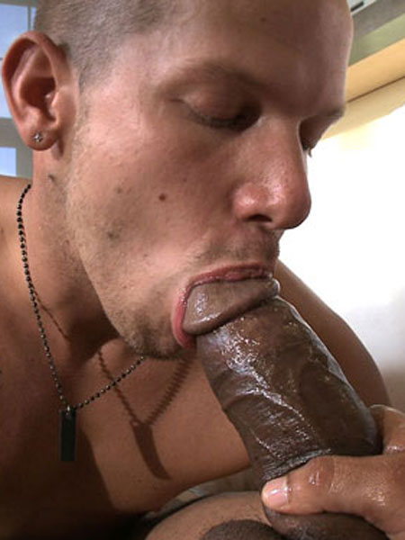 big black gay cock fucking white guy