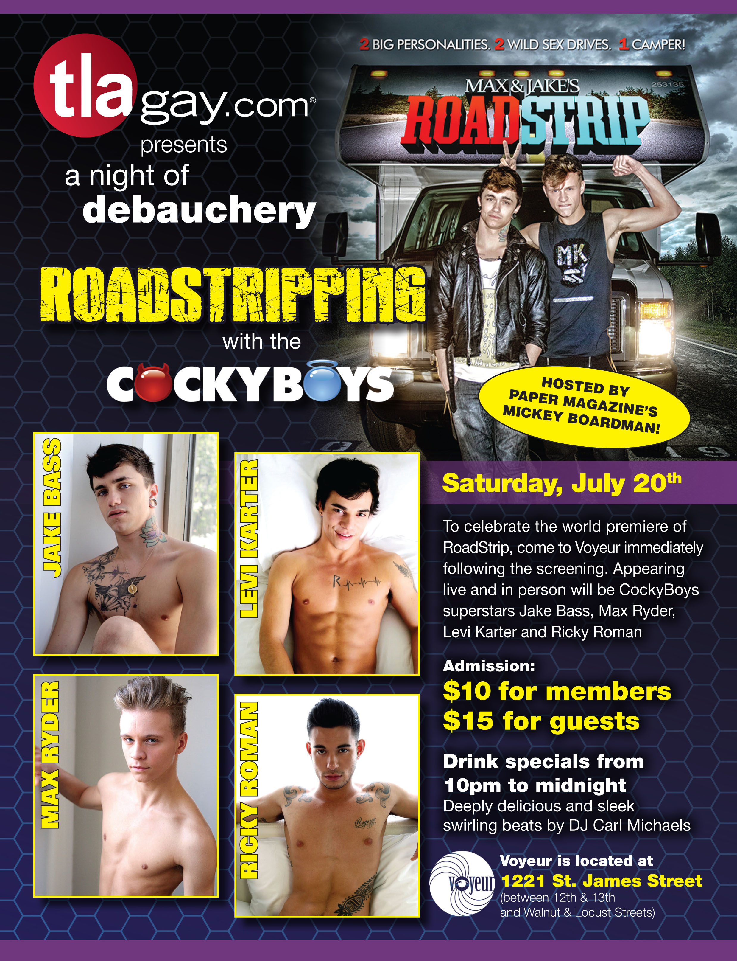 Max & Jake's RoadStrip at QFest