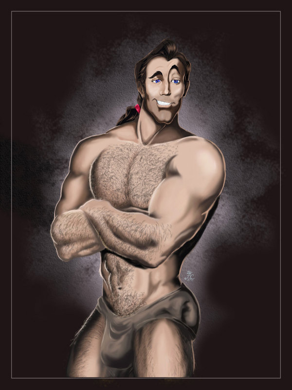 Disney_Vilains___Gaston_by_Lcslayer