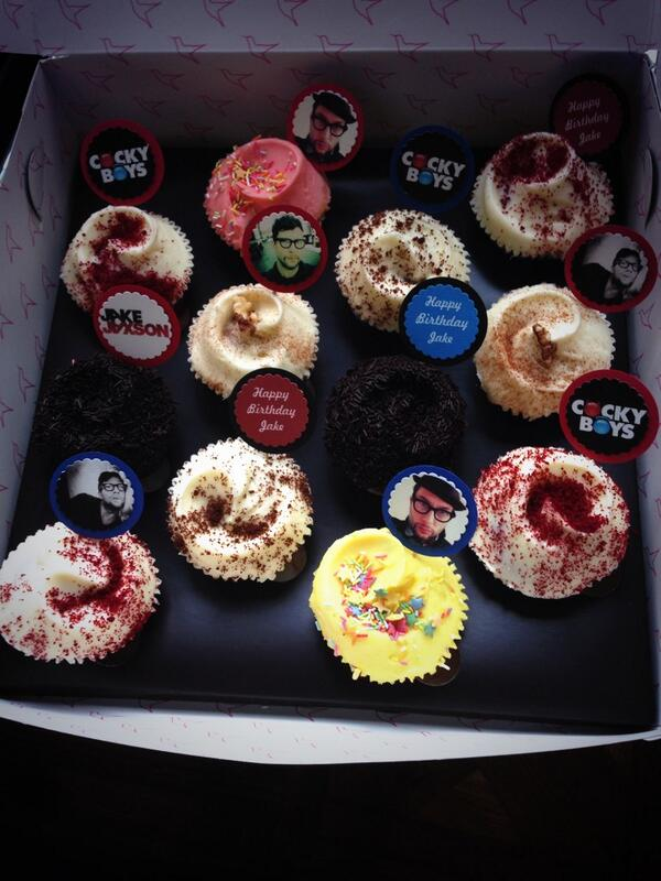 birthdaycupcakesfor jj The Cockyboys book tour hits London  and heres the pics!