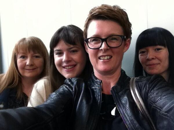 deb hannah claire gia The Cockyboys book tour hits London  and heres the pics!